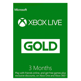 Xbox Live Gold Memberships | 3 Months (Global)