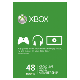 Xbox Live Gold Memberships | 48 Hours (Global)