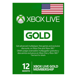 Xbox Live Gold Memberships | 12 Months - USA