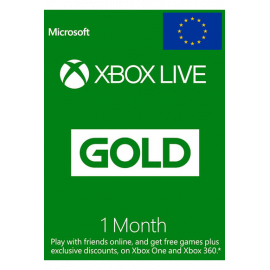 Xbox Live Gold Memberships | 1 Month - Eu