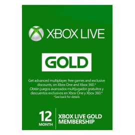 Xbox Live Gold Memberships | 12 Months (Global)