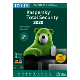 Kaspersky Total Security - 1 Device   1 Year, Product Key, Digitally Delivery Via Email