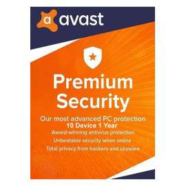 Avast Premium Security - 10 Devices | 1 Year