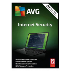 Avg Internet Security - 3 PC | 1 Year