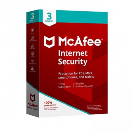 Mcafee Internet Security - 3 Devices | 1 Year