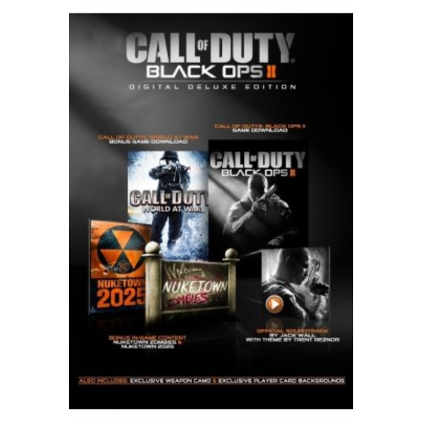 Call of Duty: Black Ops 2 - Digital Deluxe Edition (Steam /PC)