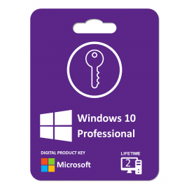Windows 10 Pro.: 2 Product Keys For 2 Pcs , Life Time License , Instant Digitally Delivery Via Email