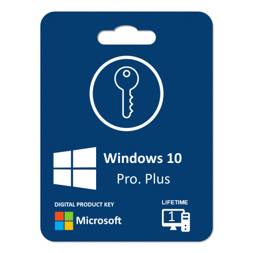 Windows 10 Pro. Plus: Product Key For 1 PC , Life Time License , Digitally Delivery Via Email