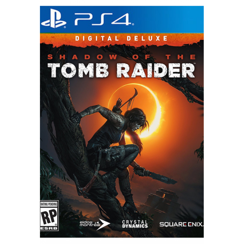 Shadow of the Tomb Raider: Deluxe Edition (PS4)