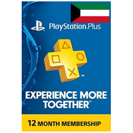 Psn - Playstation Plus - 365 Days - 12 Months - One Year (Kuwait) Subscription
