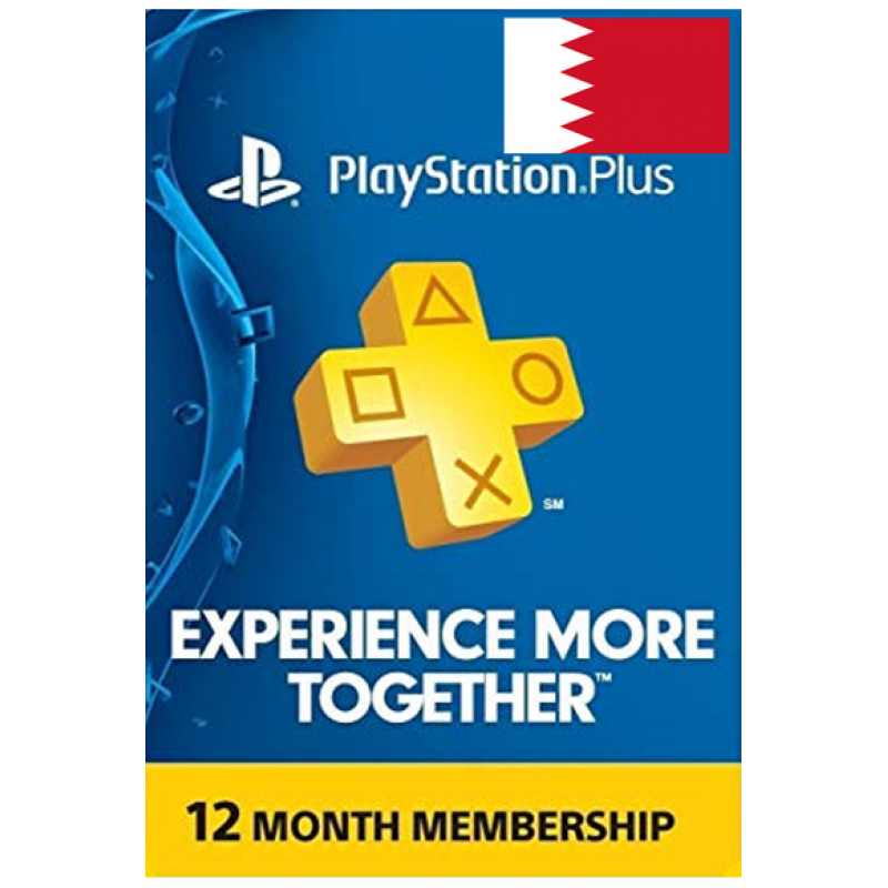 Psn - Playstation Plus - 365 Days - 12 Months - One Year (Bahrain) Subscription