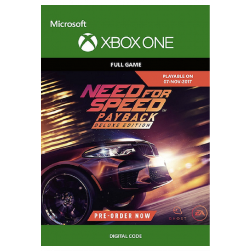 Need For Speed Payback - Deluxe Edition (Xbox One)