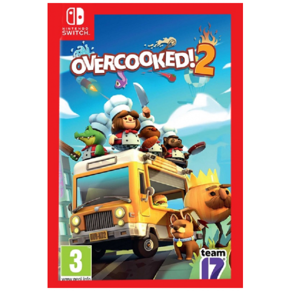 Overcooked 2 (USA) (Switch)