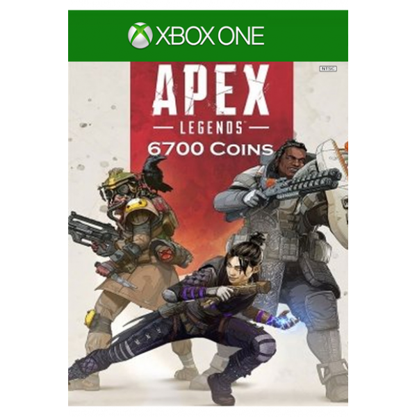 Apex Legends: 6700 Apex Coins (Xbox One)