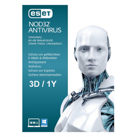 Eset Nod32 Antivirus - 3 Devices | 1 Year
