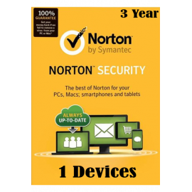 Norton Security - 1 Devices 3 Years