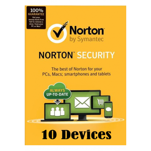 Norton Security - 10 Devices 1 Year