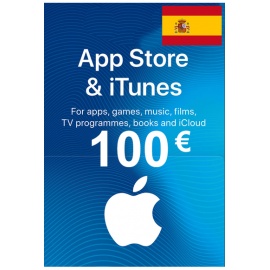 Apple Itunes Gift Card - 100€ (Eur) (Spain) App Store