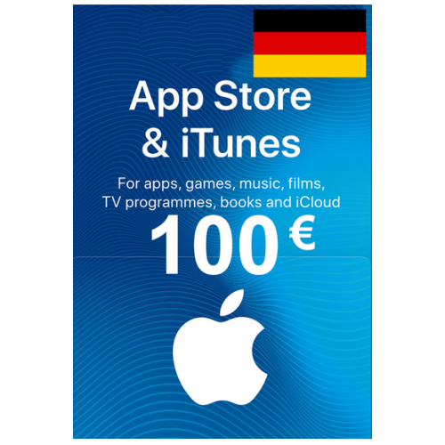 Apple Itunes Gift Card - 100€ (Eur) (Germany) App Store