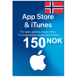 Apple Itunes Gift Card - 150 (Nok) (Norway) App Store