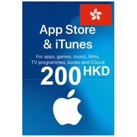 Apple Itunes Gift Card - 200 (Hkd) (Hong Kong) App Store