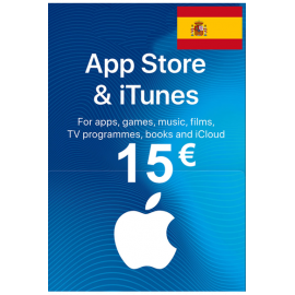 Apple Itunes Gift Card - 15€ (Eur) (Spain) App Store