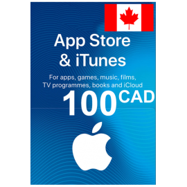 Apple Itunes Gift Card - 100 (Cad) (Canada) App Store