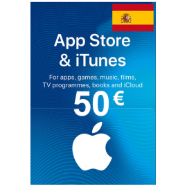Apple Itunes Gift Card - 50€ (Eur) (Spain) App Store