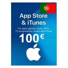 Apple Itunes Gift Card - 100€ (Eur) (Portugal) App Store