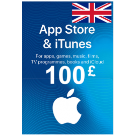 Apple Itunes Gift Card - £100 (Gbp) (Ukunited Kingdom) App Store