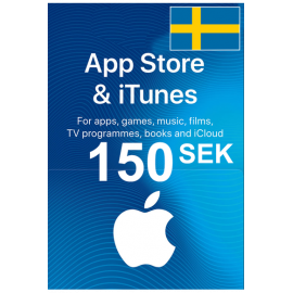 Apple Itunes Gift Card - 150 (Sek) (Sweden) App Store