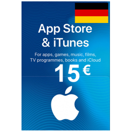 Apple Itunes Gift Card - 15€ (Eur) (Germany) App Store