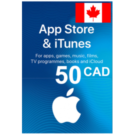 Apple Itunes Gift Card - 50 (Cad) (Canada) App Store