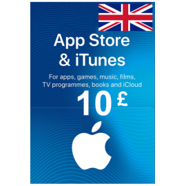Apple Itunes Gift Card - £10 (Gbp) (Ukunited Kingdom) App Store