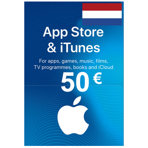 Apple Itunes Gift Card - 50€ (Eur) (Netherlands) App Store