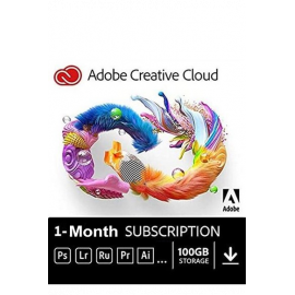 Adobe Creative Cloud 1 Month Subscription