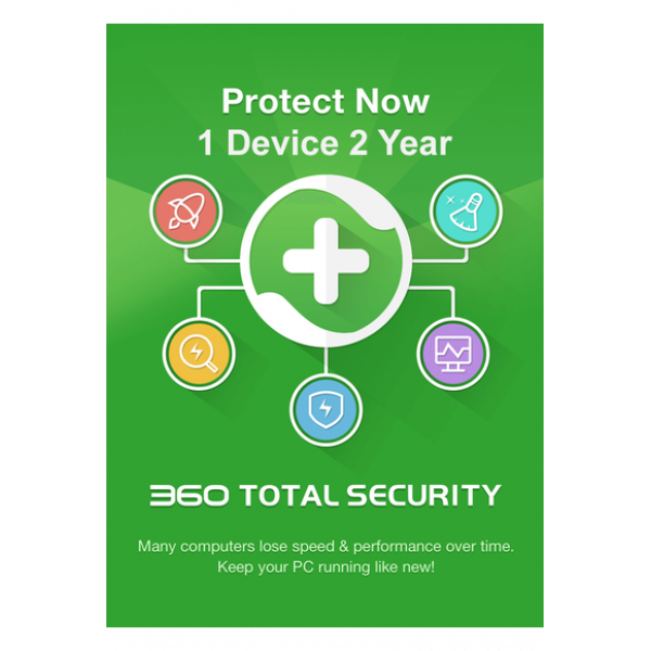 360 Total Security - 1 Device 2 Years