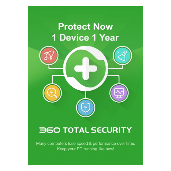 360 Total Security - 1 Device 1 Year
