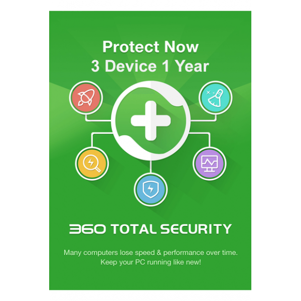360 Total Security - 3 Device 1 Year