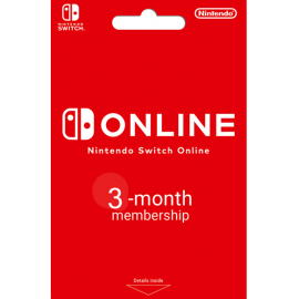 Nintendo Switch Online - 3 Month (90 Day) Membership