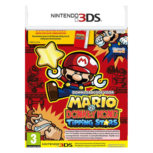 MARIO VS. DONKEY KONG TIPPING STARS (3DS)