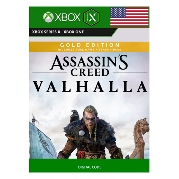 ASSASSIN'S CREED VALHALLA - GOLD EDITION (USA) (XBOX SERIES X)