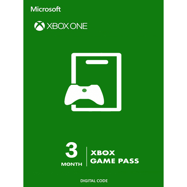 Xbox Game Pass 3 Months (Xbox One)