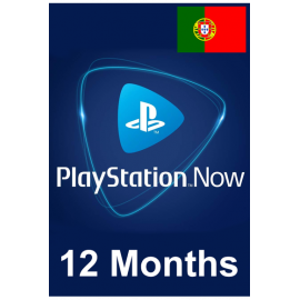 PSN - Playstation Now - 12 Months (Portugal) Subscription