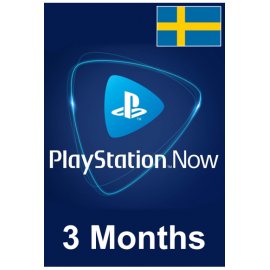 PSN - Playstation Now - 3 Months (Sweden) Subscription