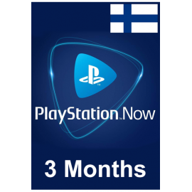 PSN - Playstation Now - 3 Months (Finland) Subscription
