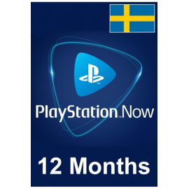 PSN - Playstation Now - 12 Months (Sweden) Subscription