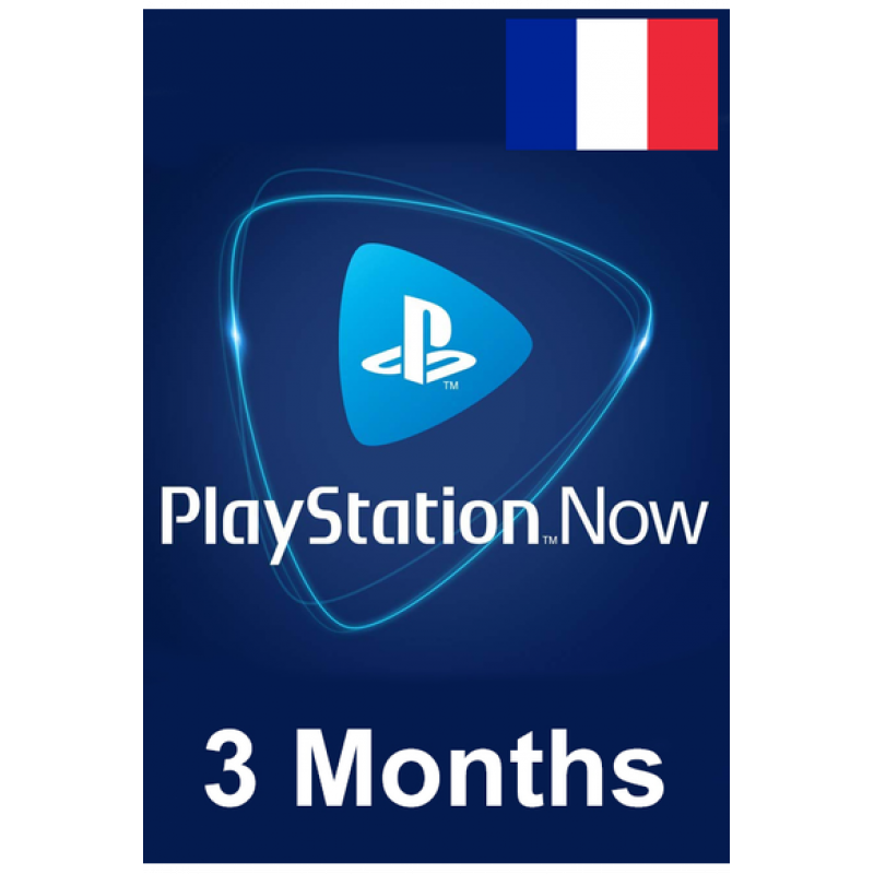 PSN - Playstation Now - 3 Months (France) Subscription