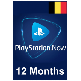 PSN - Playstation Now - 12 Months (Belgium) Subscription