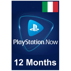PSN - Playstation Now - 12 Months (Italy) Subscription